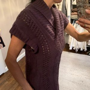 Deep Purple sweater dress